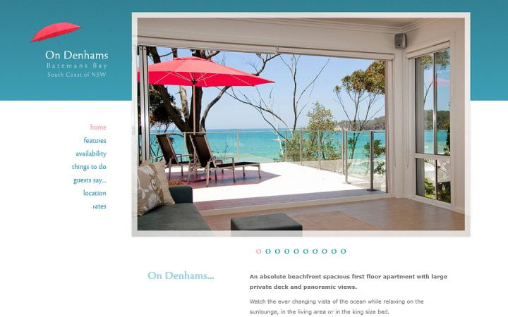 New Website Design – On Denhams