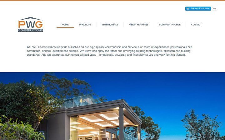 Website Redesign – PWG Constructions