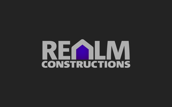Graphic Design – Realm Constructions Logo