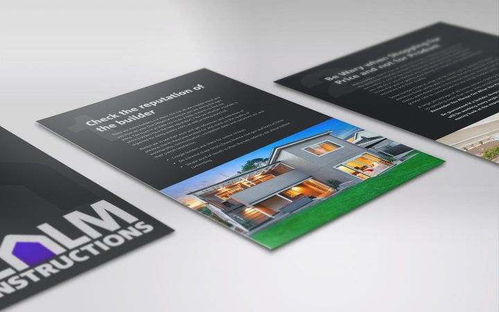 "Print Design – Realm Constructions ""7 Essential Things"" Brochure"