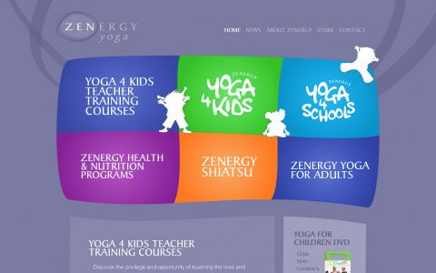 Yoga Site Concept