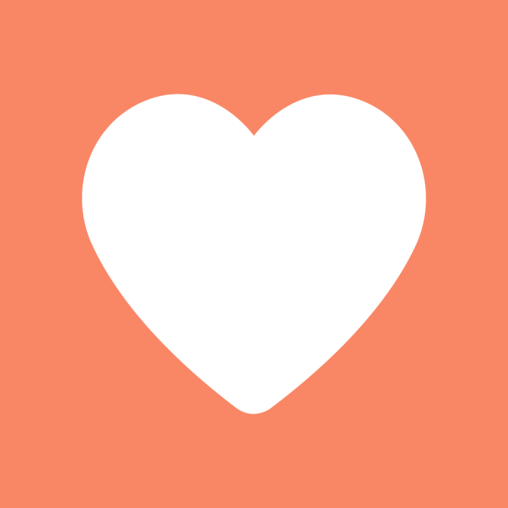 Jumbo Love Heart Icon