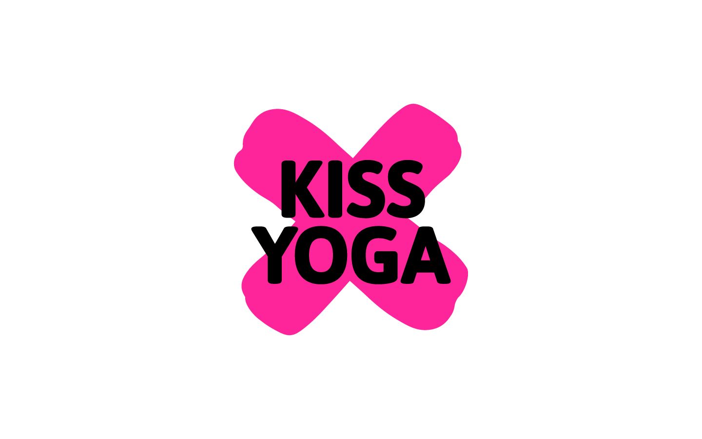 Kiss Yoga Logo - 2019