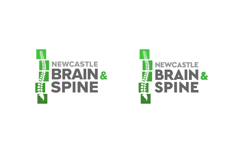 Newcastle Brain & Spine Alternate Modern Logos